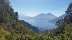 View overlooking Lake Atitlan